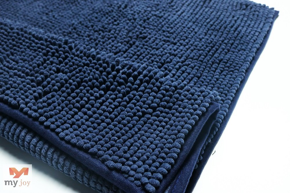 Chenille Anti-Slip Bath Mat XNE-MJ1802